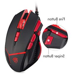 EasySMX V18 Optical Mouse Weight Tuning Set Non-slip Design